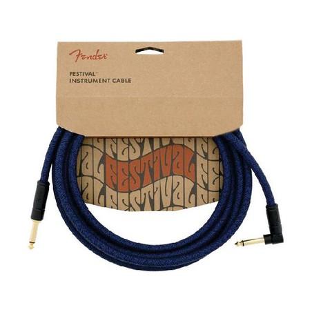 Fender FV Series Cable Cotton Blue Dr 18.6