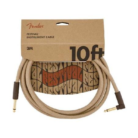 Fender FV Series Cable Pure Hemp NAT 10