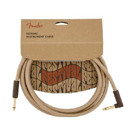 Fender FV Series Cable Pure Hemp NAT