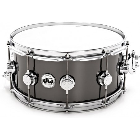 """DW 14""""x6,5"""" Black Nickel o. Brass"""