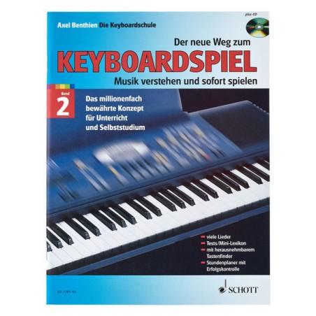 Schott Der Neue Weg Zum Keyboard 2+CD