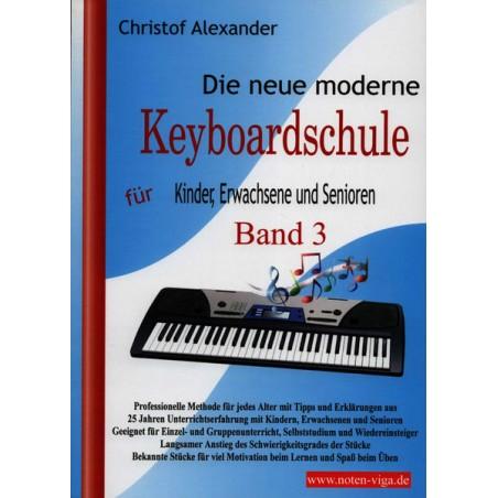 ViGa Verlag Neue moderne Keyboardschule 3