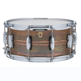 "Ludwig 14""x6,5"" Raw Copper..."